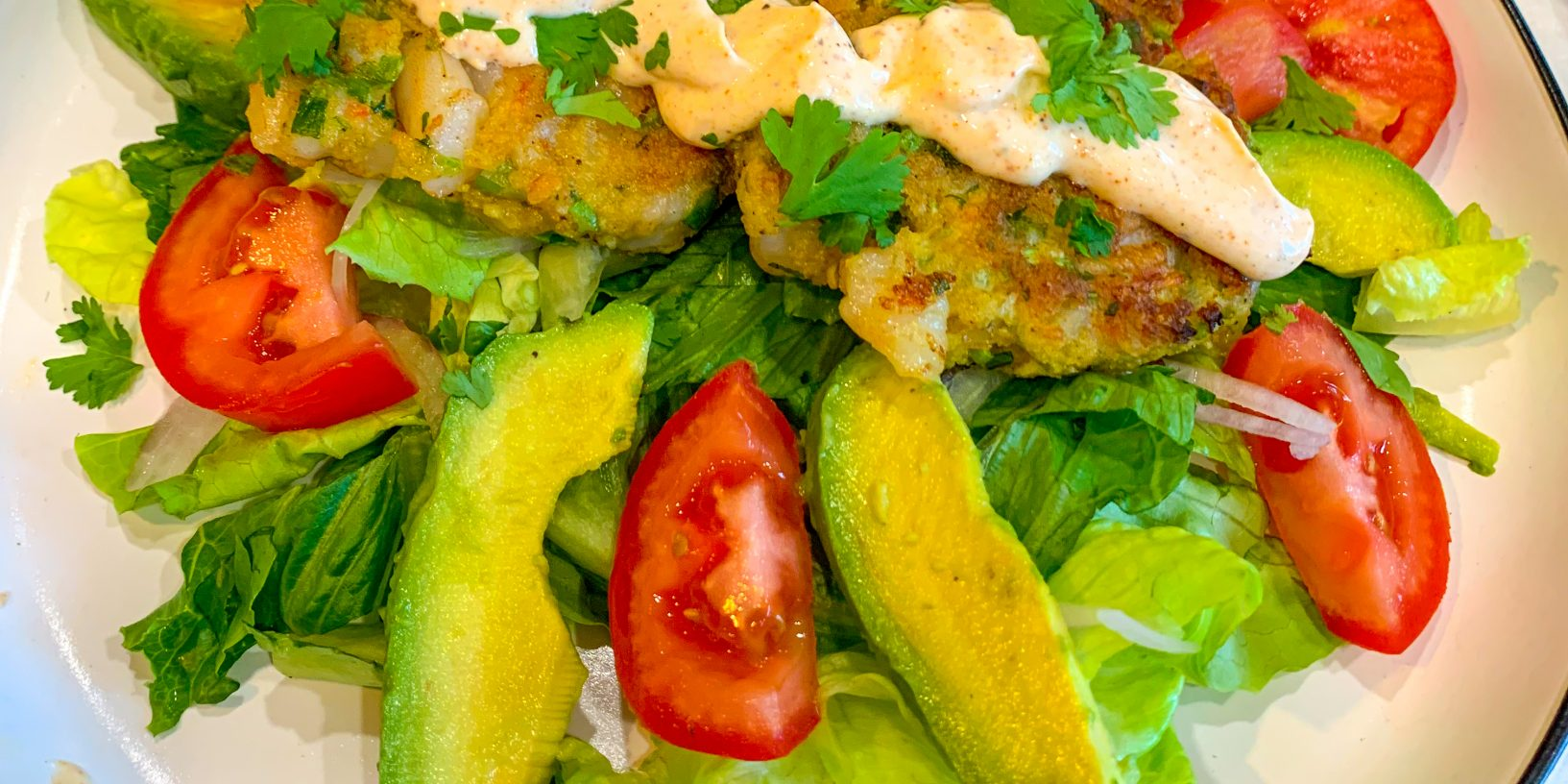 Shrimp Cakes or Burgers with Spicy Aioli Sauce